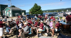 Annapolis Basin Community Band - group shot