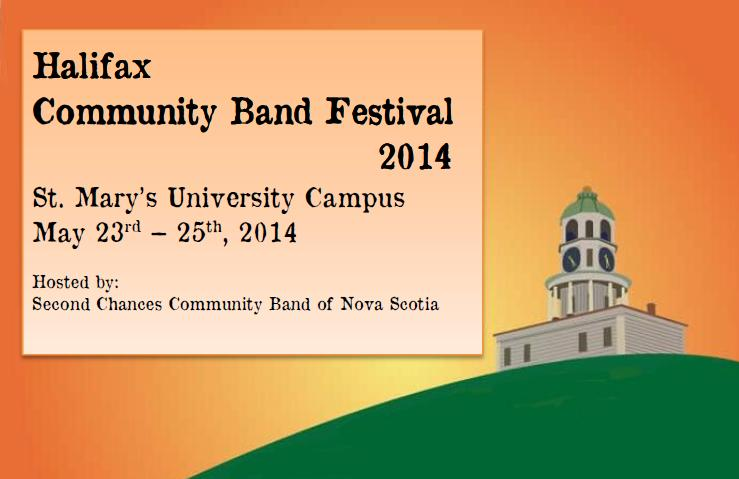 Community Band Festival Logo