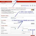 E-Mail Money Transfer - Screenshot
