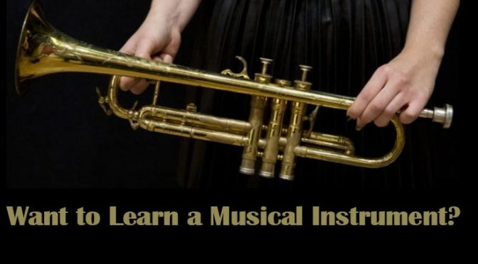 Learn to play a band instrument! Join our beginner band program!